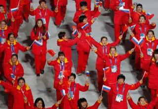 Китай занял двенадцатое место в медальном зачете Олимпиады Сочи-2014