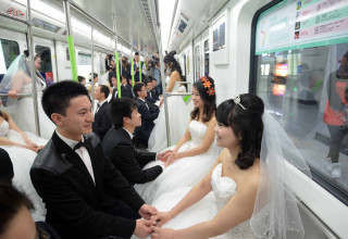 Свадьба под землей