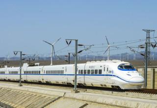В Синьцзяне завершилось строительство первой высокоскоростной железной дороги