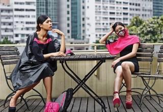 Дизайнерские защитные маски будут представлены на Неделе моды в Гонконге