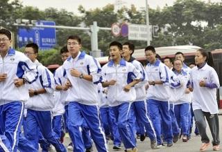 Китайские выпускники будут обязаны пробежать 600 км перед экзаменами