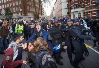 Китайцы о студенческих протестах в Лондоне
