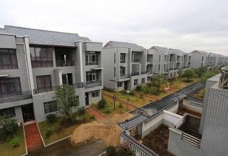 Китайский миллионер построил новые виллы для жителей родной деревни