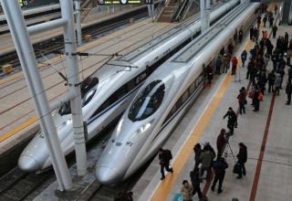 Запущен 7-часовой высокоскоростной поезд Шанхай-Гуанчжоу