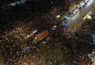 36 человек погибли в новогодней давке в Шанхае