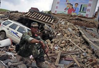Два землетрясения произошли в Китае с разницей в 32 часа