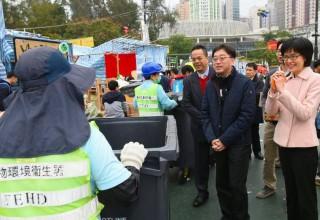 362 тонны мусора собрали в Гонконге после празднования Нового года