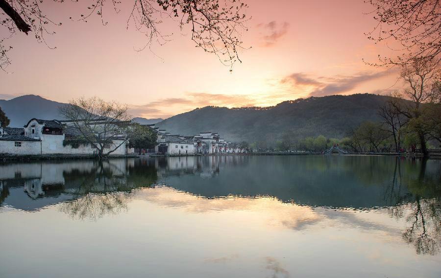 рассвет в Китае
