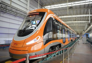 Первый в мире трамвай с водородным двигателем появился в Китае
