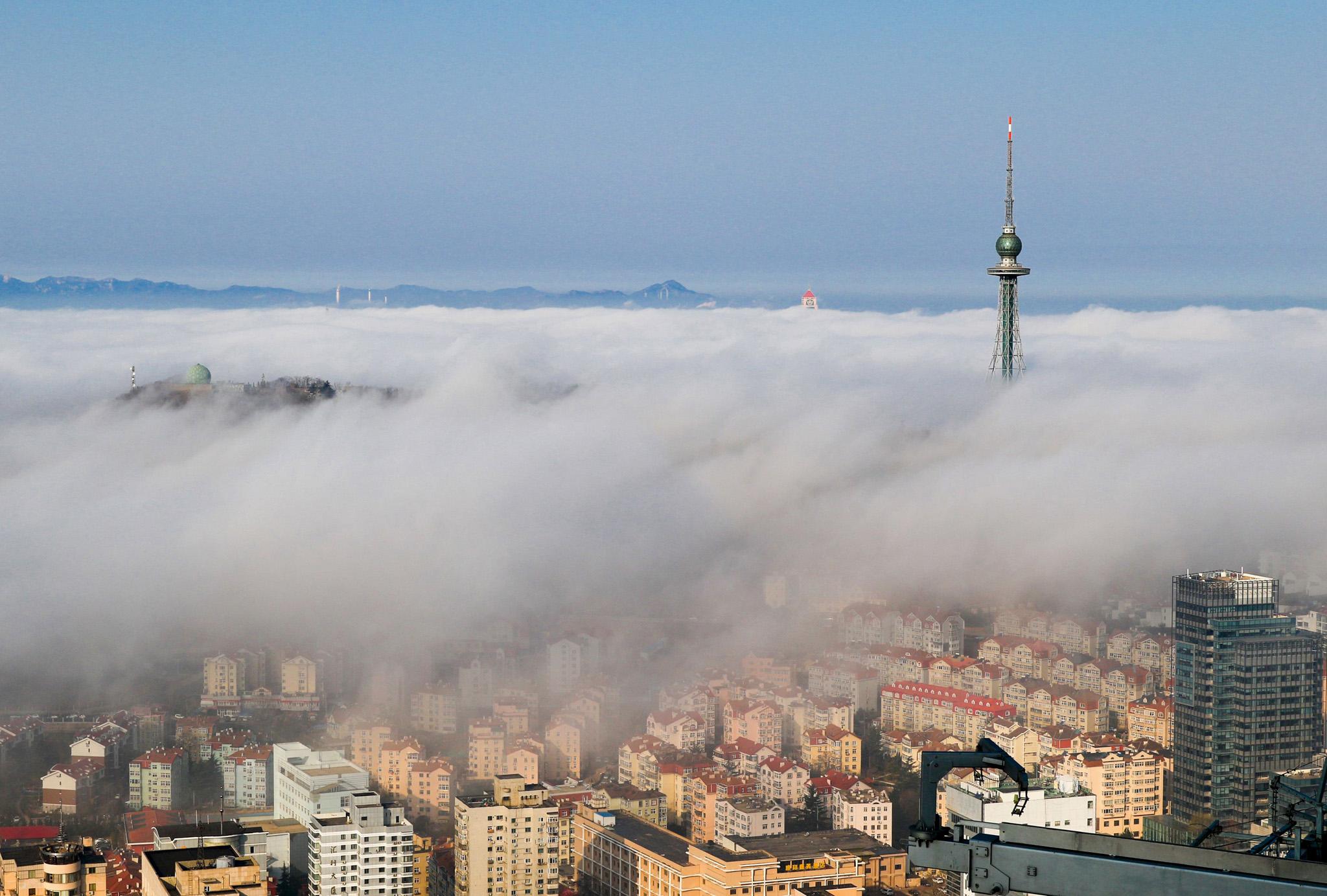 циндао туман