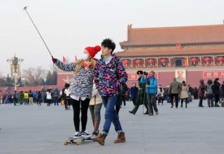 Китайские музеи начали запрещать селфи-палки