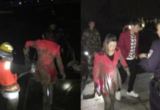 Бывшая и нынешняя прыгнули в реку — кого спасать? Любовная драма в Китае