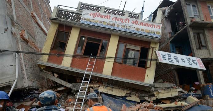 непал землетрясения китай