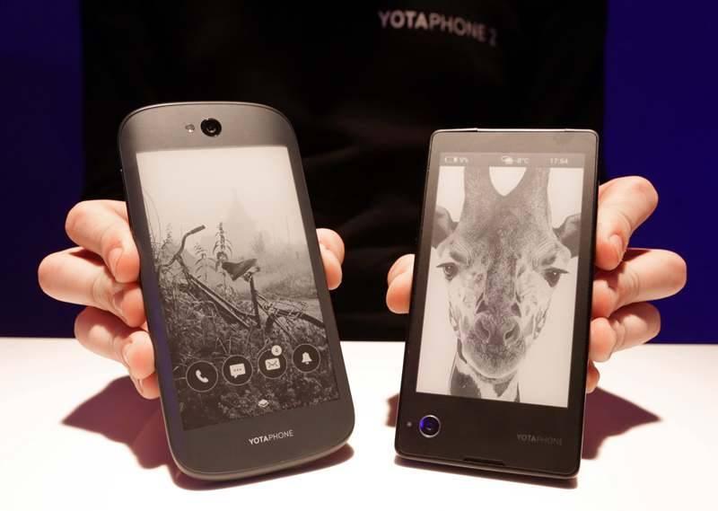 Yotaphone 2 в Китае