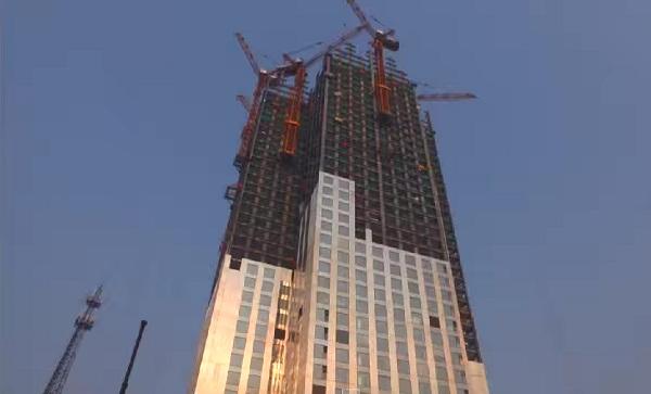 небоскреб за 19 дней