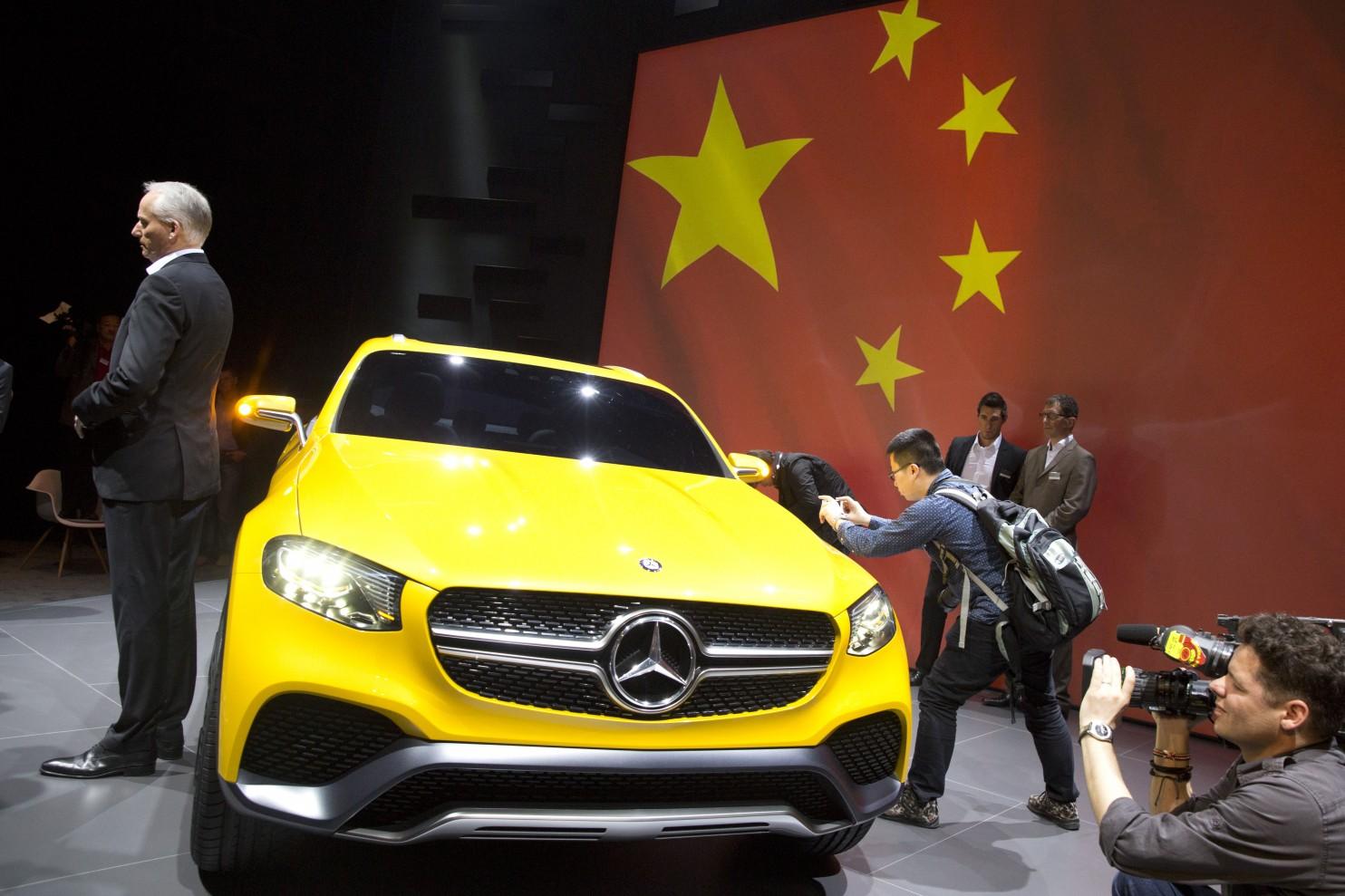 Mercedes, Китай