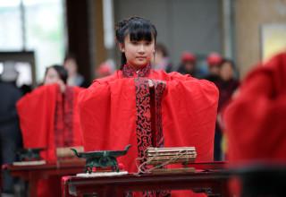 Церемония совершеннолетия в Китае (ФОТО)