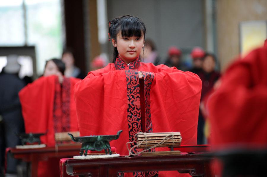 церемония совершеннолетия в китае
