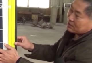Китайский дворник изобрел эко-машину для уборки улиц (ВИДЕО)