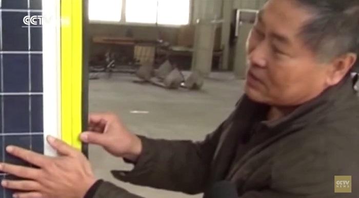 китайский дворник изобрел эко-уборщик