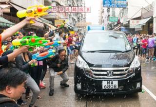 Тайский Новый год в Гонконге (ФОТО)