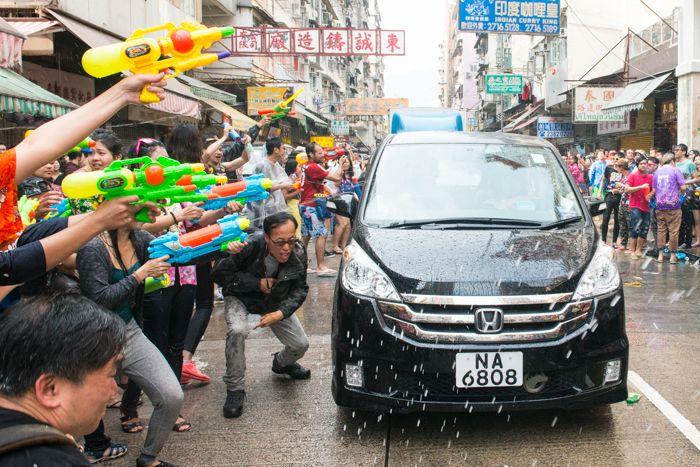 тайский новый год в гонконге
