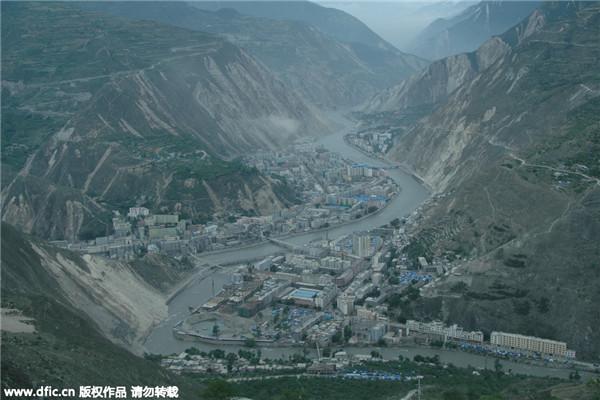 Вид уезда Вэньчуань