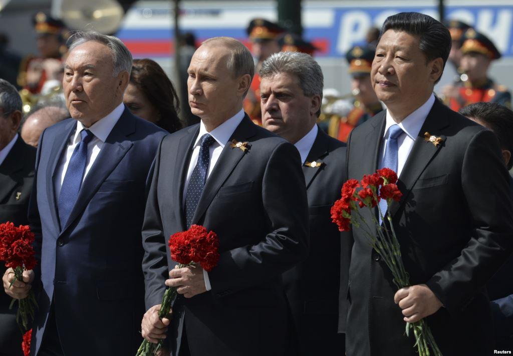 Си Цзиньпин Путин Москва парад победы