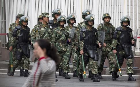 Синьцзян террористы