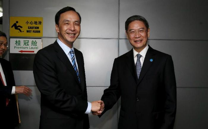 Председатель партии Гоминьдан Чжу Лилунь