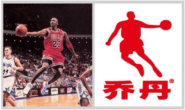 Майкл Джордан логотип Qiaodan Sport