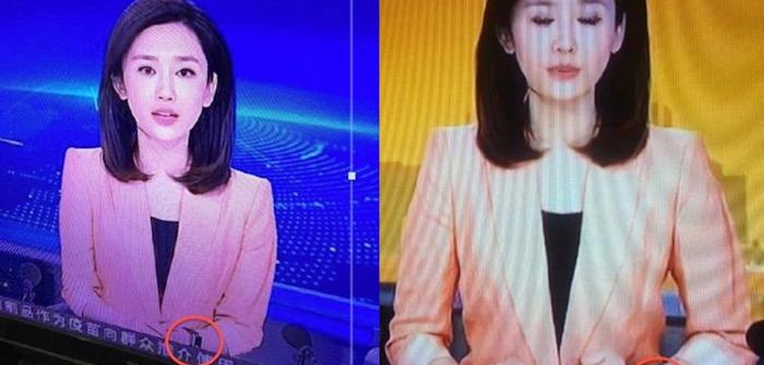 Apple Watch Китай телеведущая