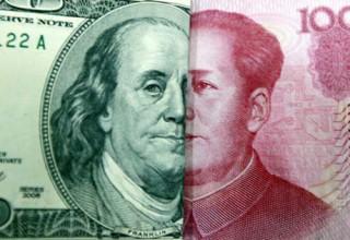 Китайский юань максимально укрепился к доллару США за 15 месяцев
