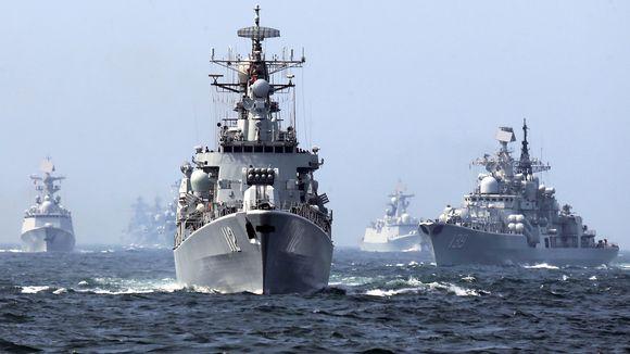 военные учения россия китай