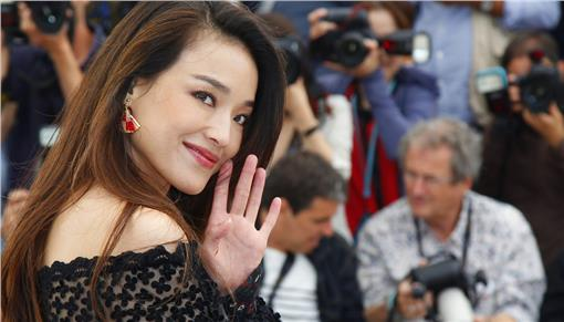 Актриса Шу Ци на Каннском кинофестивале