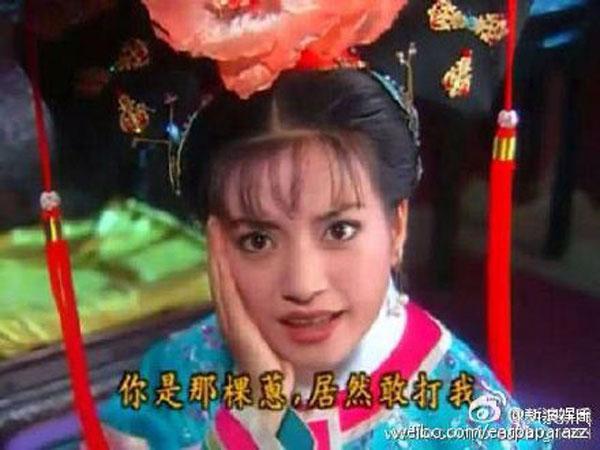 Китайская актриса Чжао Вэй в сериале «Принцесса Хуаньчжу»