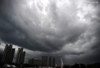 На южное побережье Китая идет тайфун «Куджира»