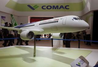 Китай получил 500 заказов на гражданские реактивные самолеты