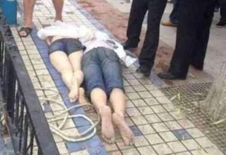 В Китае молодая пара утонула в озере после ссоры