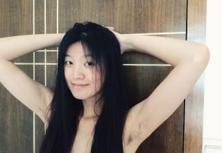 Победительницы конкурса небритых подмышек 2015 в китайском интернете