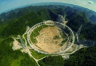 В Китае приступили к сборке самого большого телескопа в мире