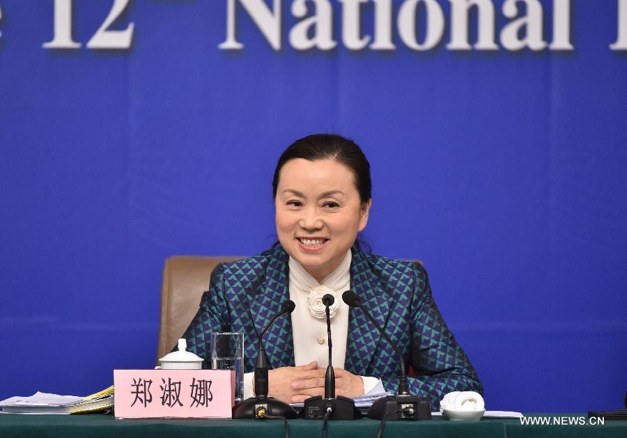 Чжэн Шуна, вице-председатель юридической комиссии ВСНП.
