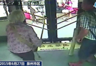 Пожилую китаянку приговорили к тюремному заключению за избиение водителя автобуса