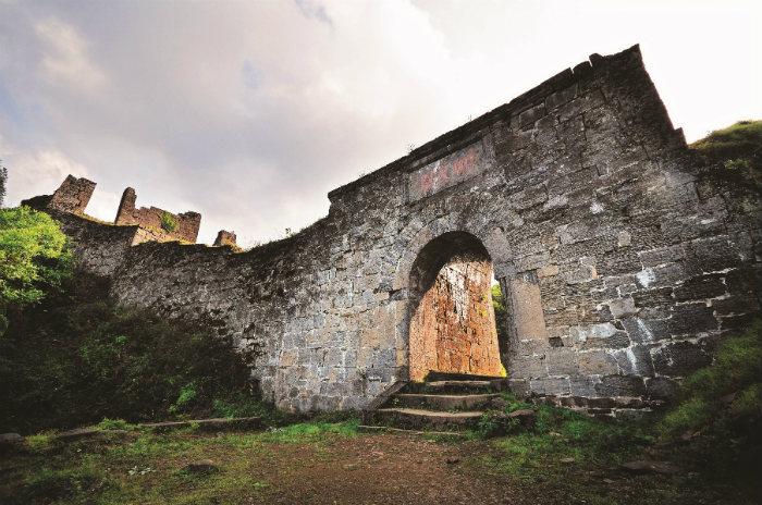 Фрагмент крепости Хайлунтунь