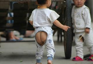 О, эти штанишки с дыркой: история самого странного предмета одежды китайских детей