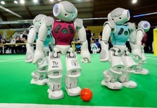 В Китае прошел чемпионат мира по футболу среди роботов