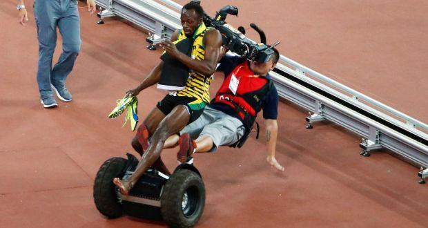 Болт на чм по легкой атлетике в пекине