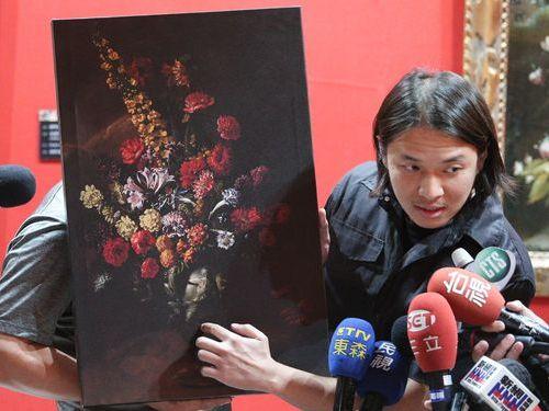 Тайваньский мальчик оставил дыру в картине стоимостью $1,5 млн