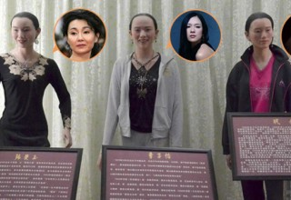 Китайские знаменитости пришли в ужас от восковых фигур в одном из музеев