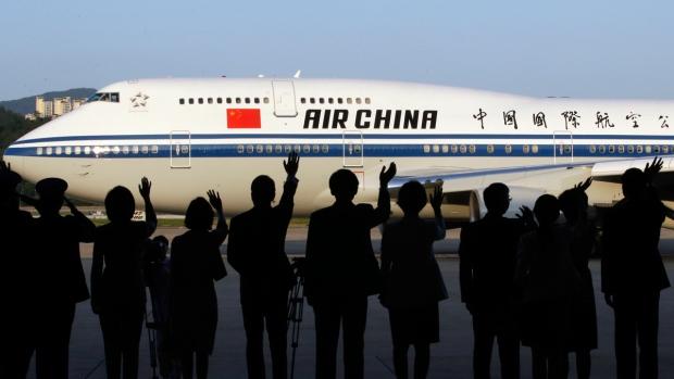 китайские авиалинии непунктуальные